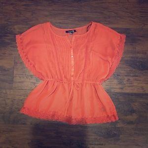 Forever 21 burnt orange blouse